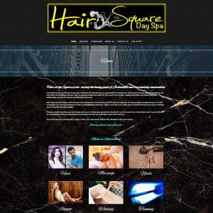 Hair at the Square website
